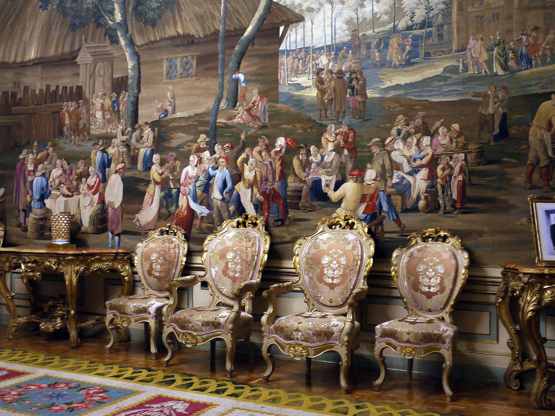 Palacio Real Del Pardo Salon Madrid Espa A Palacios Reales De  # Muebles Rafael Palacios