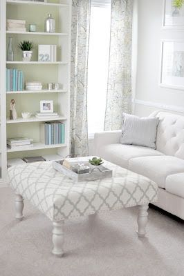 20 Furniture Hacks That Every Homeowner Should Know Endearing Living Room Ottoman Inspiration
