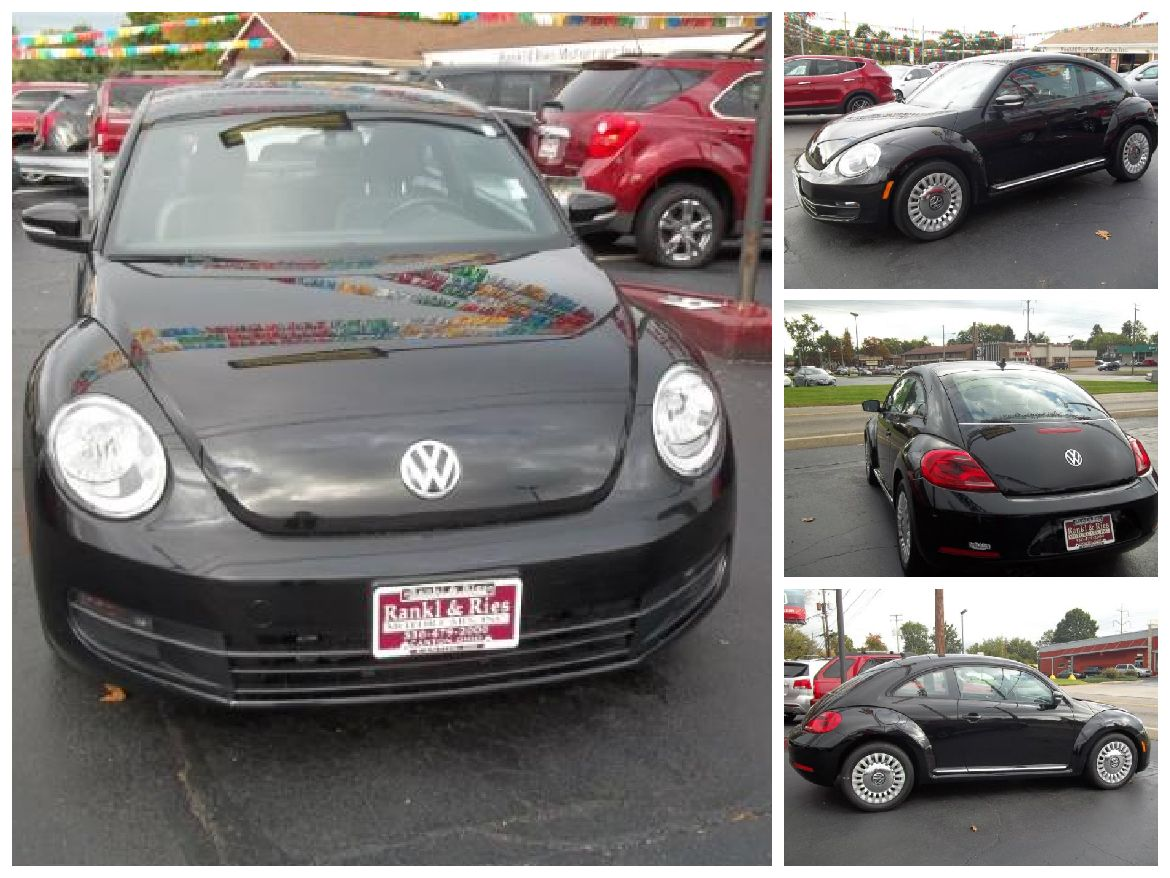 2014 Volkswagen Beetle Coupe! LOW MILES! Turn signal