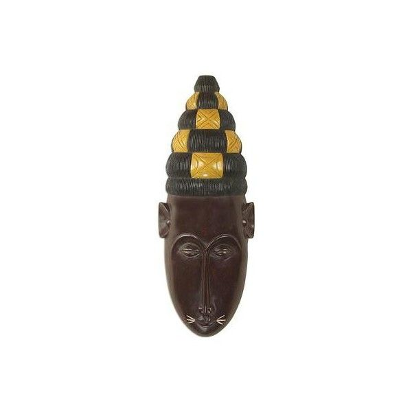 Wall Mask Decor Enchanting Novica Fante Tribal Chief Hand Crafted African Wood Wall Mask $63 Design Ideas