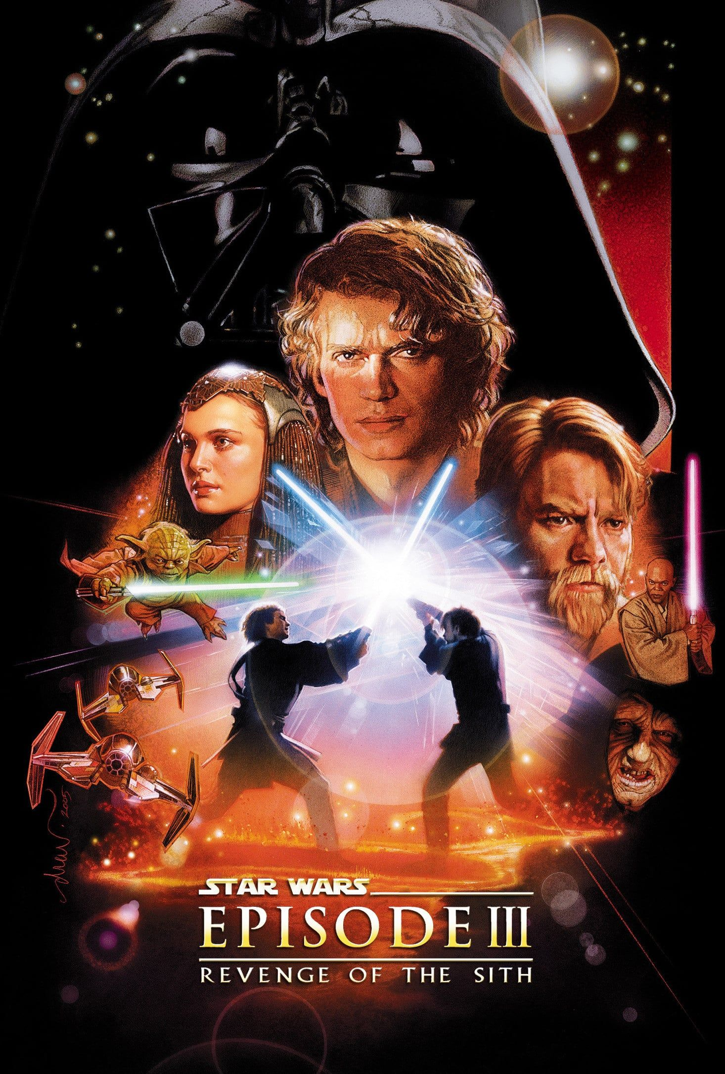 Star Wars Episode Iii Revenge Of The Sith Star Wars Episode Ii Star Wars Film Star Wars Watch