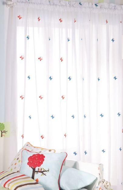 visillos para habitaciones infantiles y juveniles de