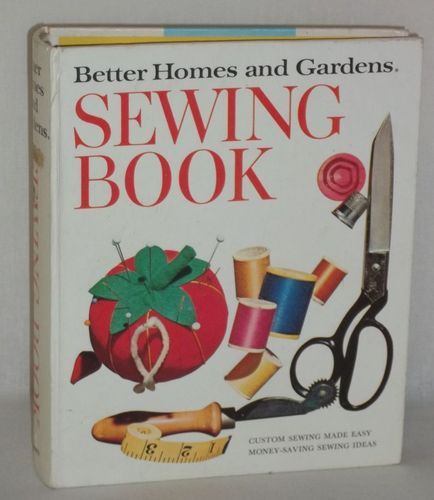 better homes and gardens sewing book 1970 5 ring binder