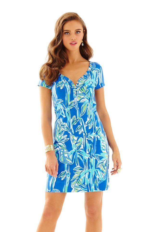 V neck summer dress patterns lilly pulitzer