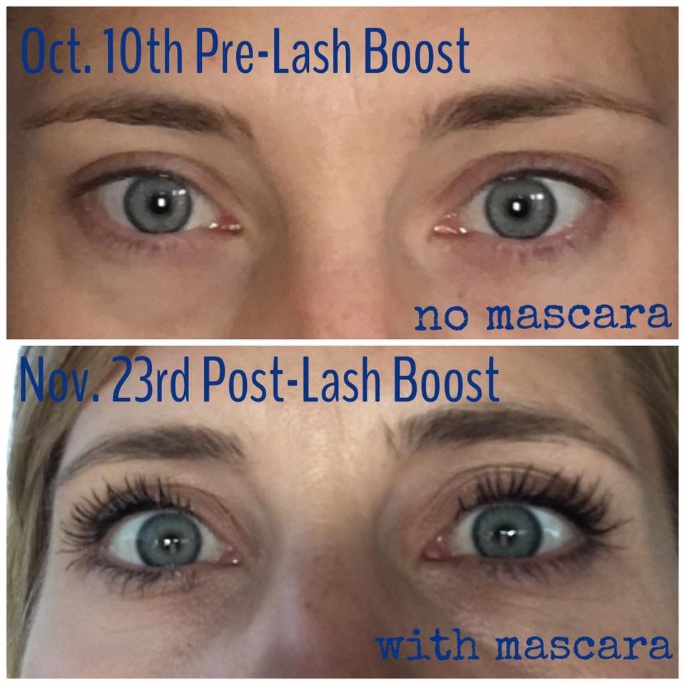 Get your own results with Lash Boost!