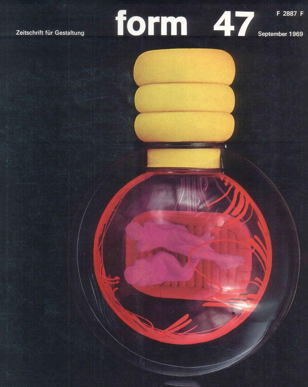 form N° 47. Sep 1969. Cover: Hanswerner Klein (object: Gelbes Herz ...