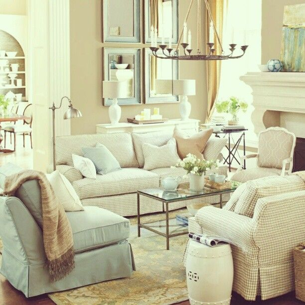 I love the couches for a formal living room Formal living room