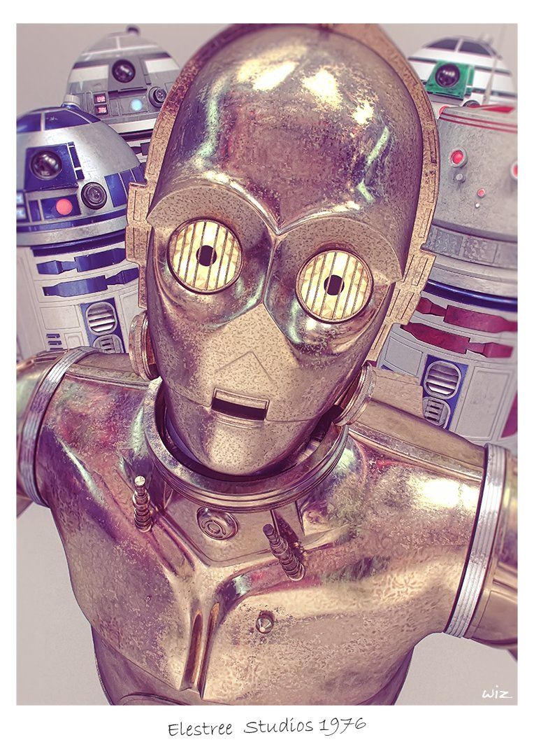 Droid Groupie by  Paul Johnson