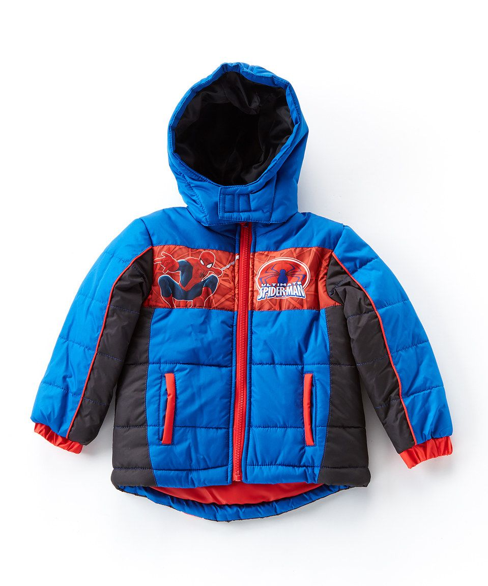27f3490e5 This Spider-Man Puffer Coat - Toddler   Boys by Spiderman is perfect ...