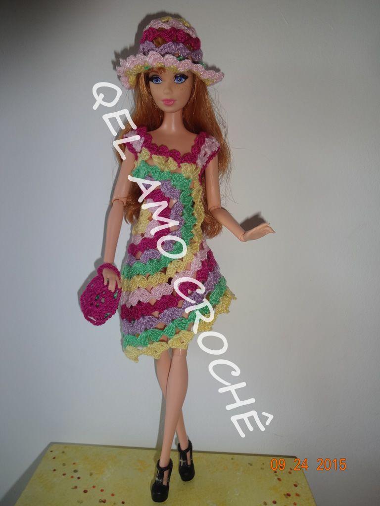 Pin von Virgie Corpuz auf Barbie clothes | Pinterest | Häkeln