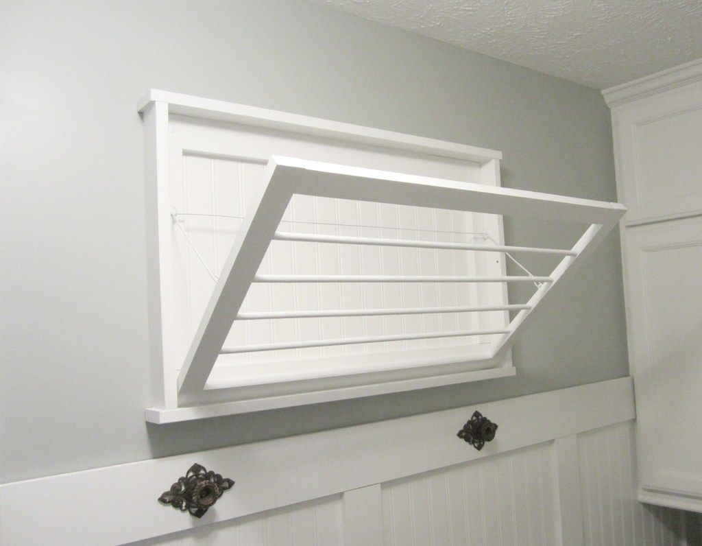Diy laundry room drying rack laundry rooms laundry and clothes