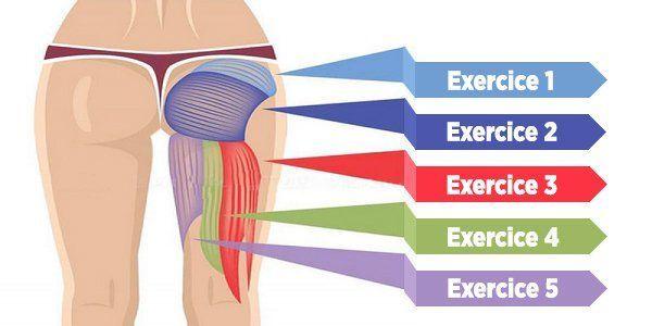 5 exercices pour muscler vos fessiers, améliorer votre ...