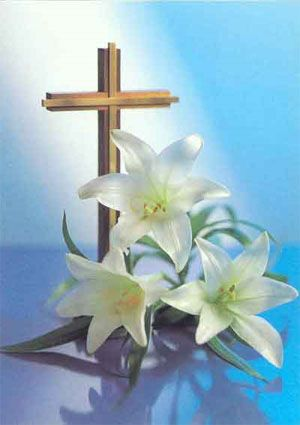 34++ Easter lily and cross clipart information