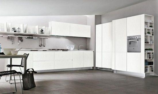 cucine moderne » cucine moderne bianche - ispirazioni design dell ... - Cucine Moderne Bianche E Nere