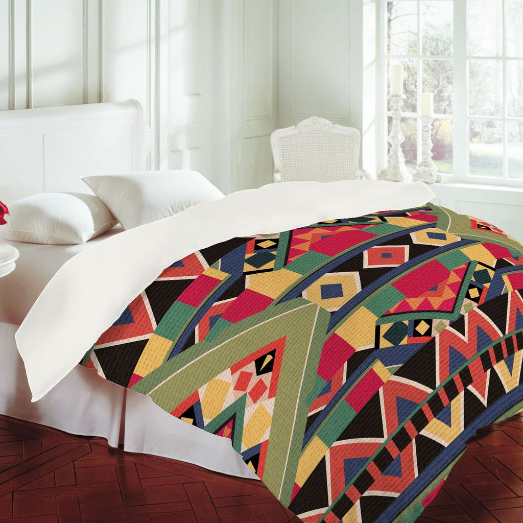 Custom duvets from denydesigns.com--I want this so badly for my new apartment!