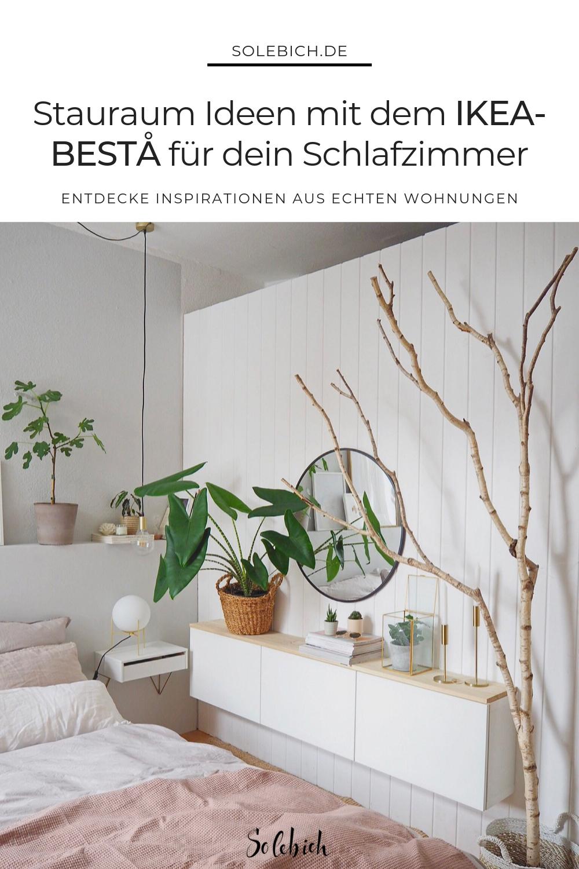 Die schönsten Ideen mit dem IKEA-BESTA für dein Schlafzimmer!