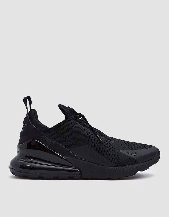 the latest 7ce34 fbffb Nike Air Max 270 Sneaker in Black Black