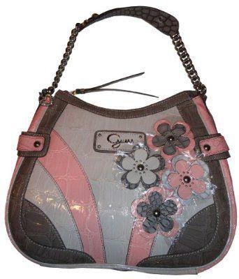 Women S Guess Purse Handbag Dalece Pink Multi 145 00