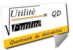 Mon billet cette semaine : Augmenter son quotient de désirabilité: la fine ligne entre futilité et utilité! http://wp.me/p9DS1-C2
