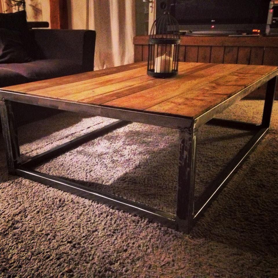 table basse industriel style loft | tables, style and loft