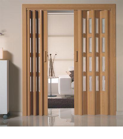 puerta corredera plegable