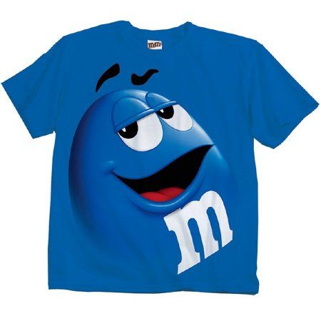 37040990d1b Buy M M Candy Silly Character Face Adult T-Shirt at Walmart.com