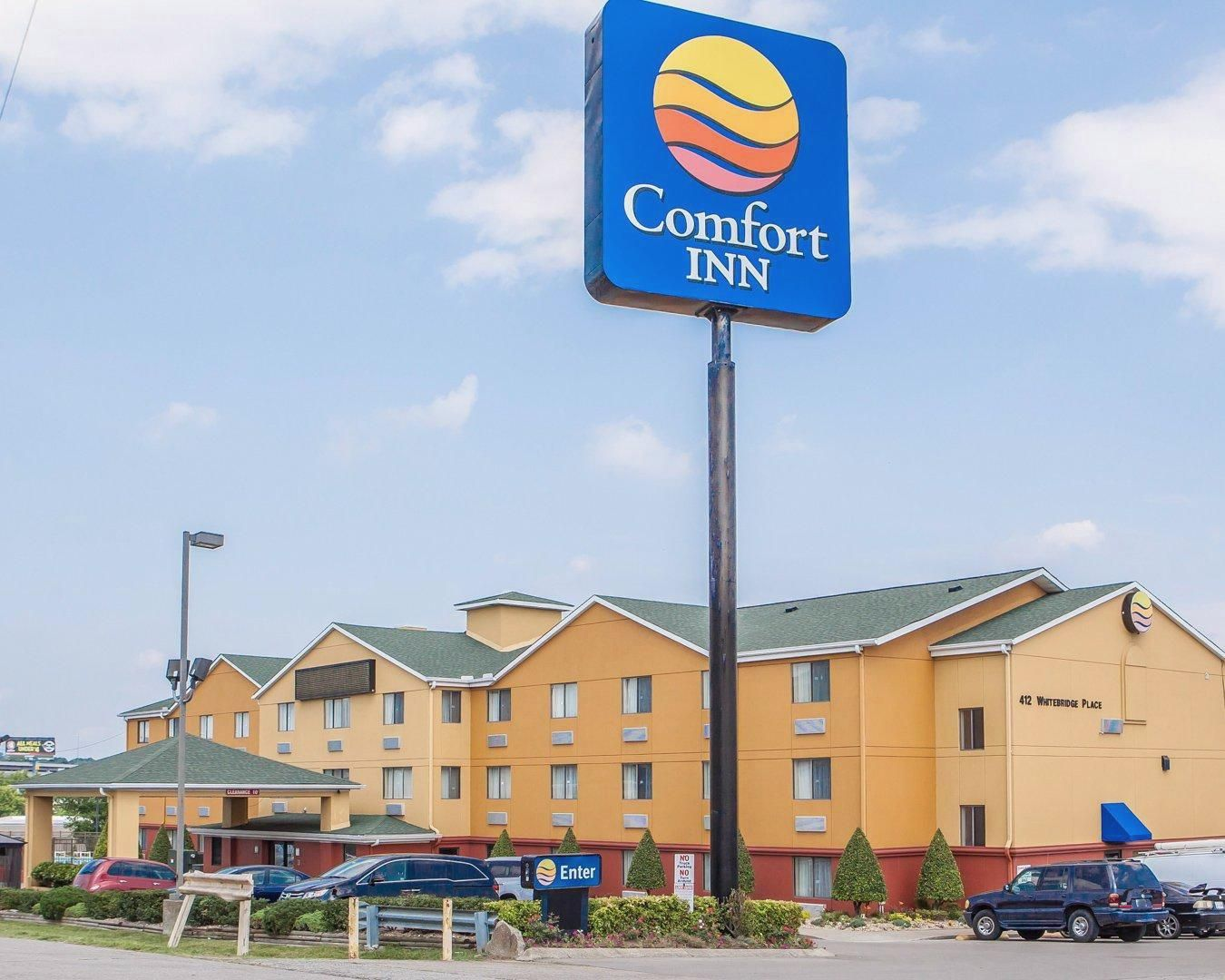 Nashville Tn Comfort Inn A Nashville Near Tennessee State University United States North America Set In A Prim Hotel Hotel Offers