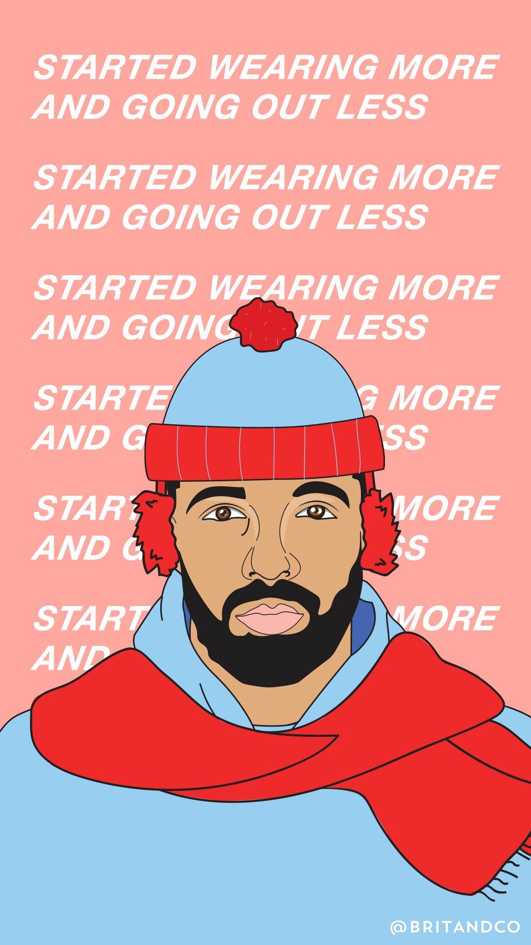 Twitter Drake background, Drake art, Drake iphone wallpaper