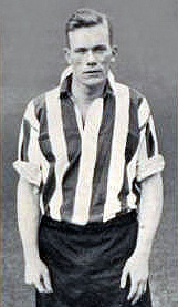 Irishman Jimmy Dunne made 190 appearances for The Blades between the wars scoring 167 goals