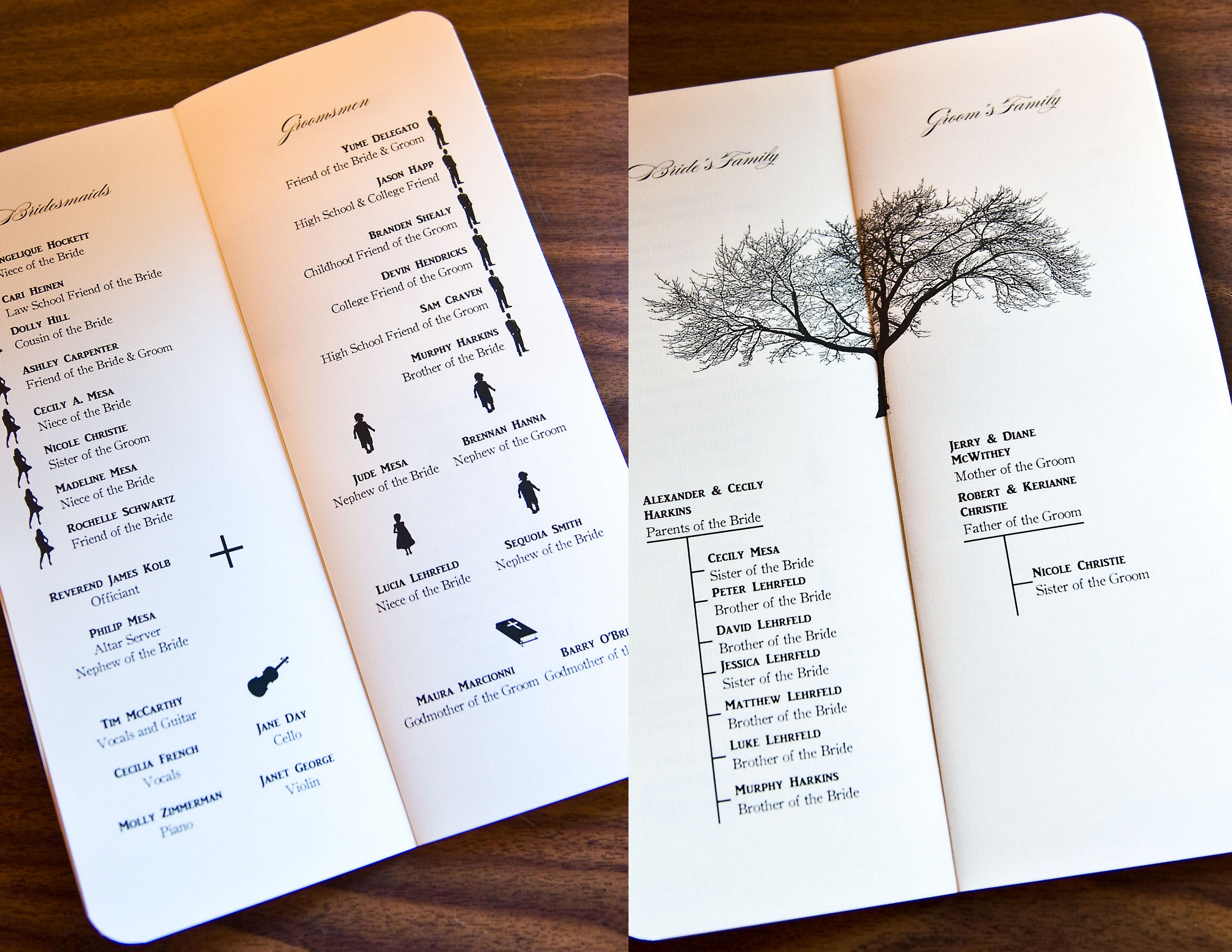 love diy wedding programs with silhouette bridal party backgrounds journal for laptop hd
