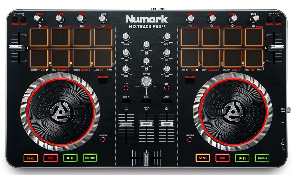Numark Mixtrack Pro 2 Top Digital Dj Dj Equipment Drum Pad