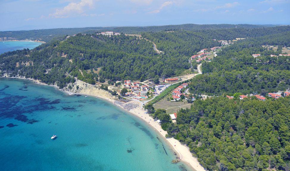 Elani Bay Resort Hotel In Chalkidiki 3enodoxeio Elanh