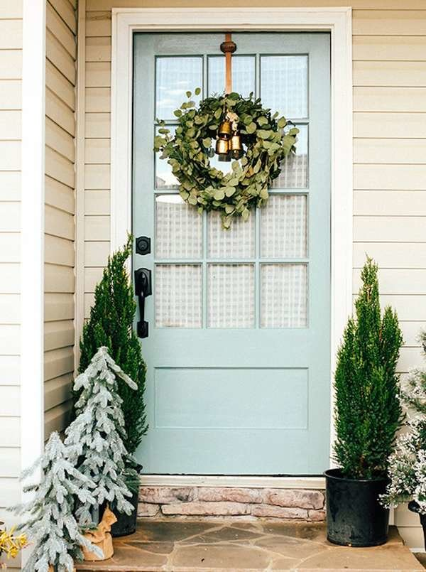Welcome Home: 11 Fresh Ways to Spruce Up Your Front Door #hausdekoeingangsbereichaussen