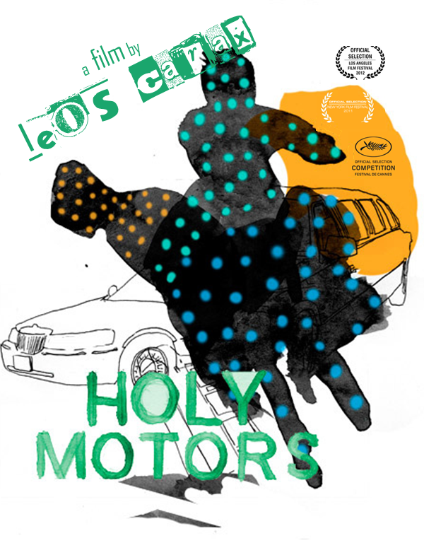 """Holy Motors"" - Leos Carax. Film Poster."