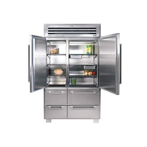 Sub Zero Pro 48 With Glass Door Refrigeratorfreezer By Sub Zero On