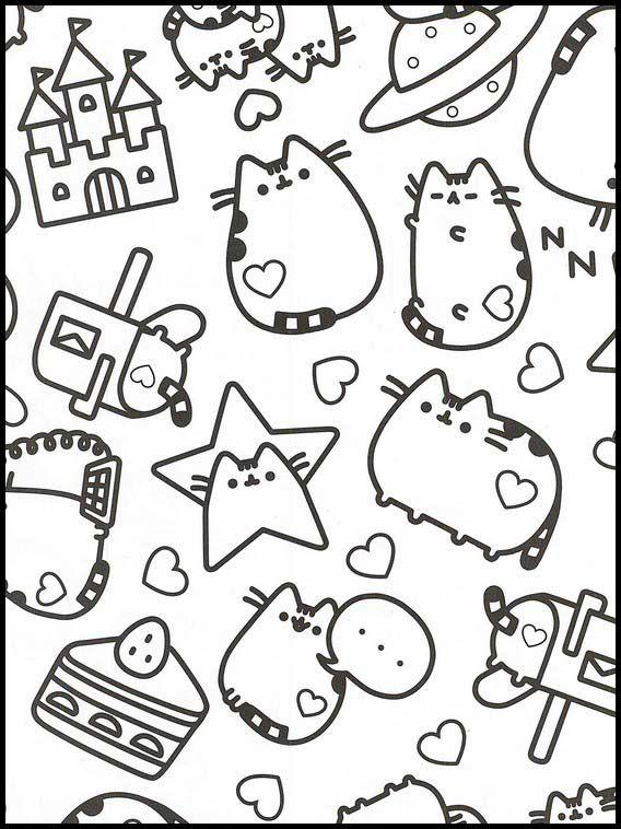 Pusheen 49 Ausmalbilder Fur Kinder Malvorlagen Zum Ausdrucken Und Ausmalen Malvorlagen Zum Ausdrucken Wenn Du Mal Buch Ausmalbilder Zum Ausdrucken