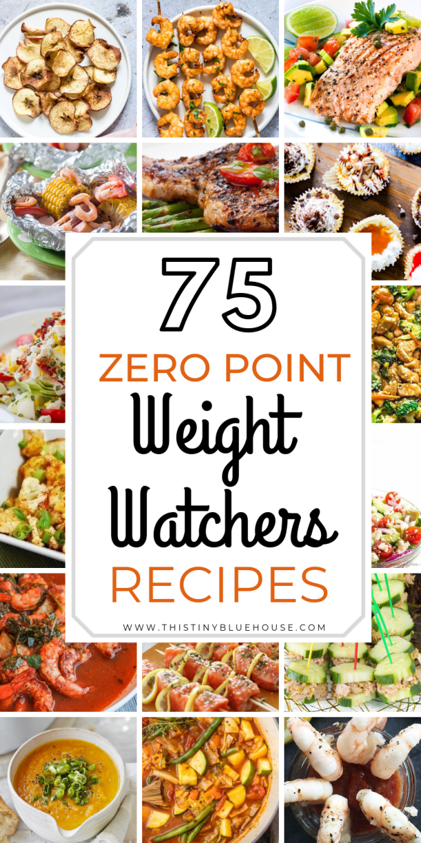 75 Best Quick & Easy Zero Point Weight Watchers Fo