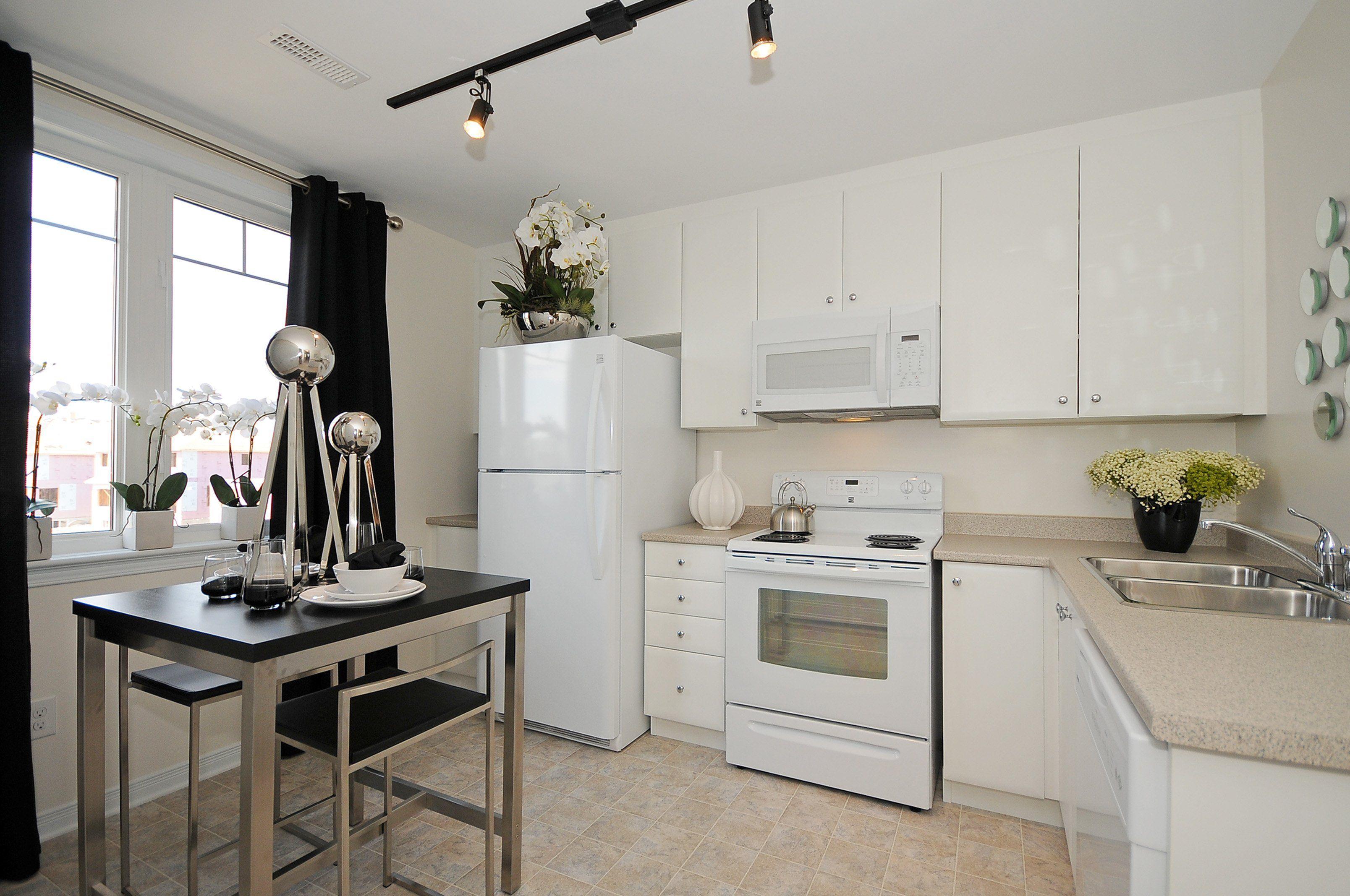 Links Townhomes Model Kitchen#links #stonebridge #ottawa Adorable Model Kitchen Designs Review