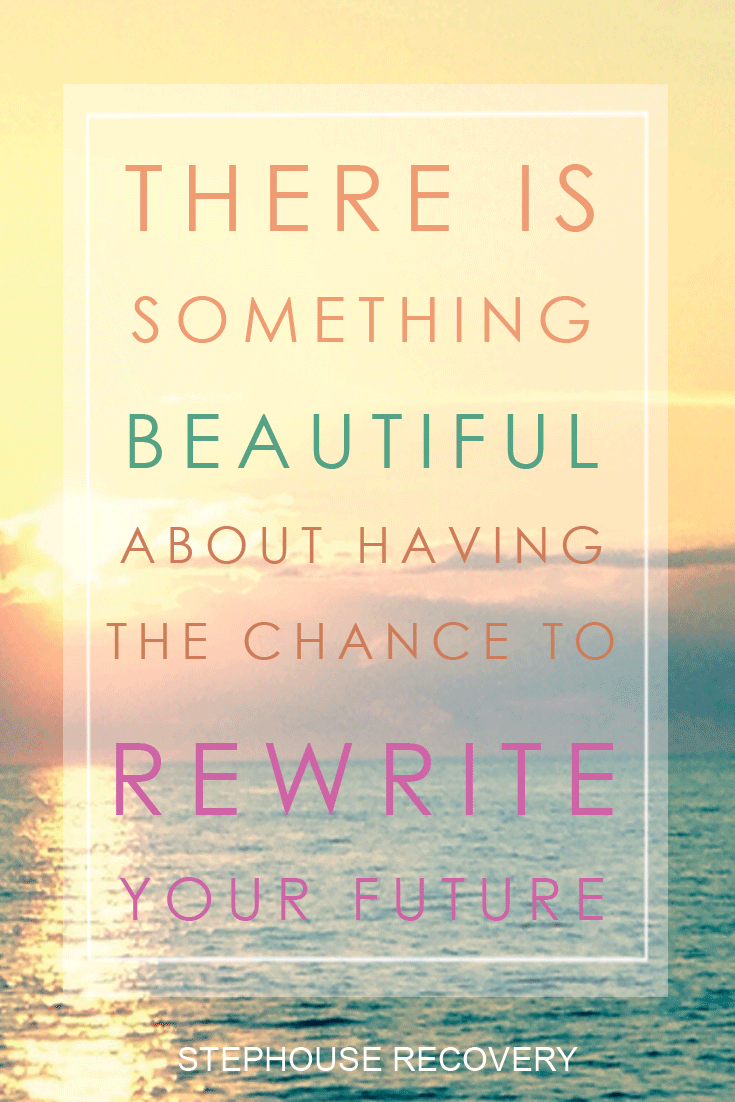 There Is Something Beautiful About Having The Chance To Rewrite Your