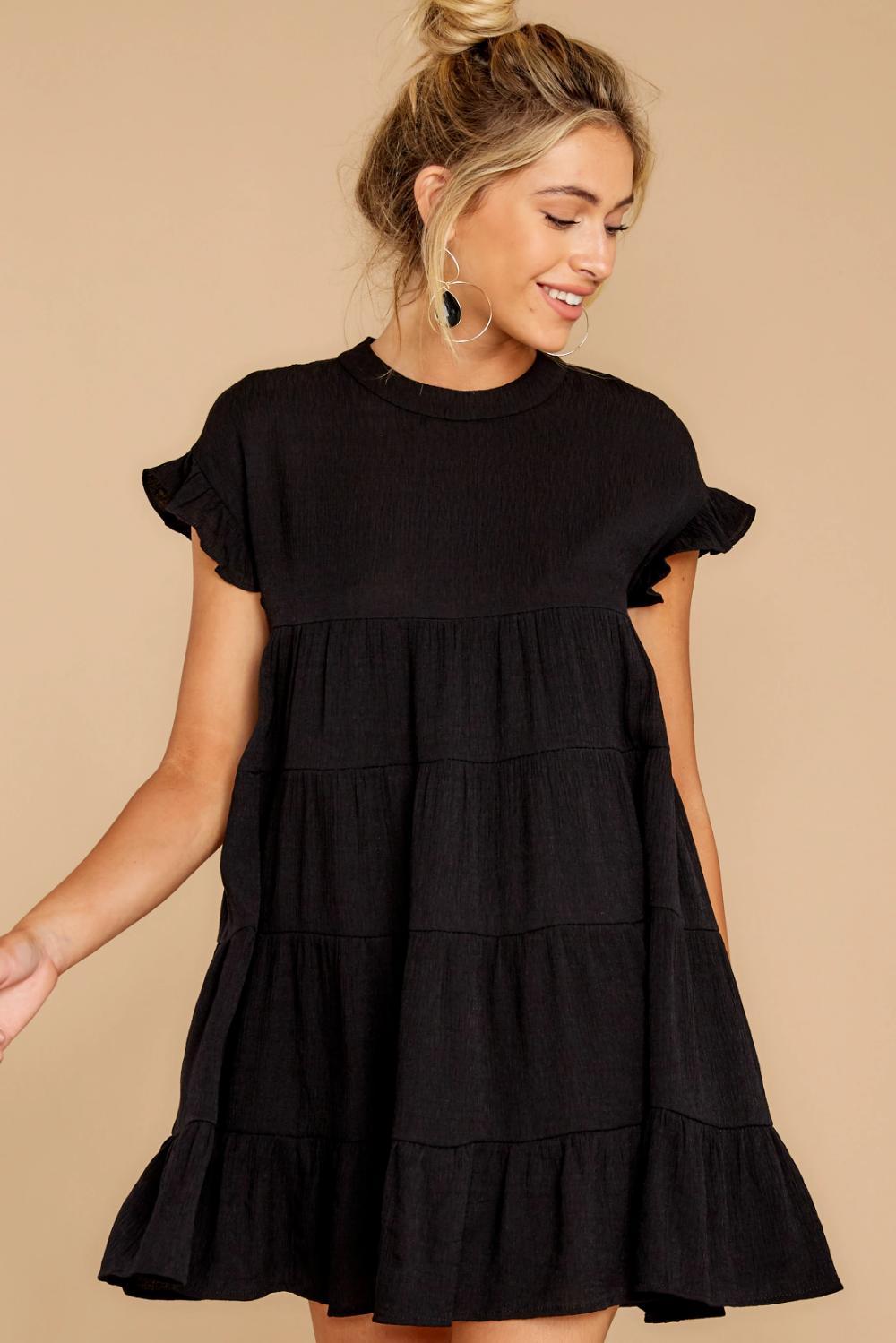Nothing More Nothing Less Black Dress