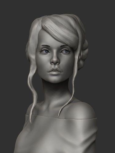 Download Girl Anastasia free 3D model or browse 13477 similar Girl