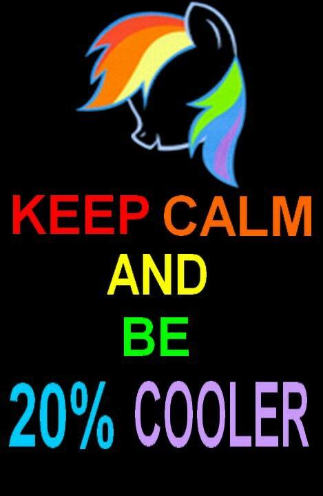 Keep Calm And Love Applejack