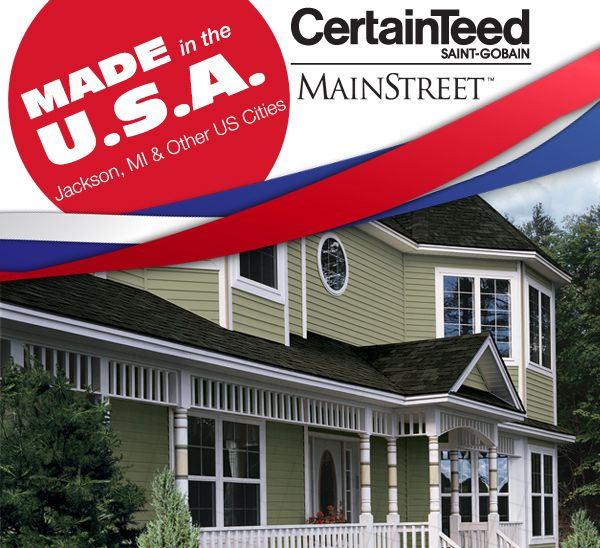 Mainstreet Double 4 Woodgrain Clapboard Vinyl Siding Offers The Benefits Of A Premium Panel For A Fraction Of The Cost Fr Vinyl Siding Clapboard Siding