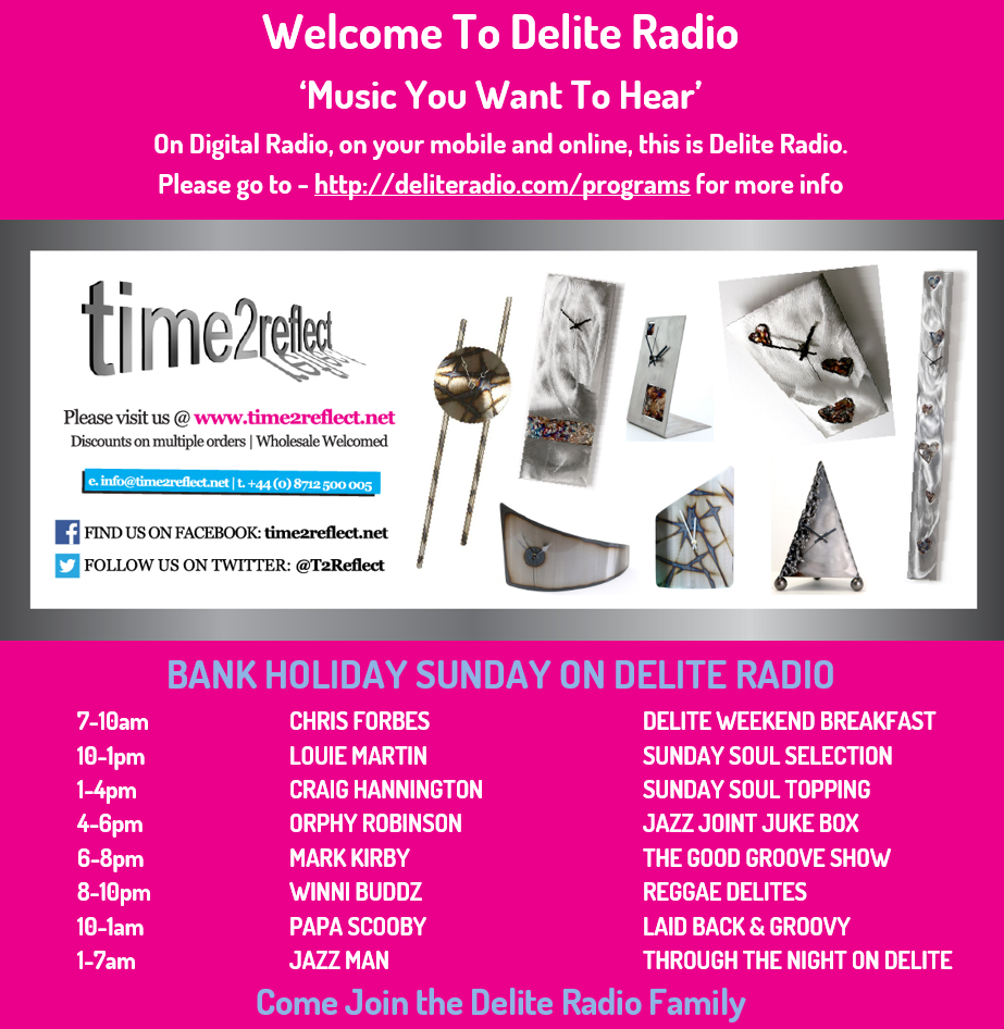 Today On Delite Radio Also Check Out Http Www Deliteradio Com Programs Delite Radio Playing The Music You Want To Digital Radio Radio Soul Music