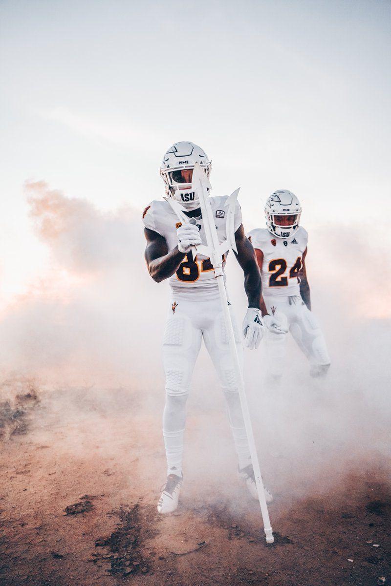 Arizona state whiteout unis college football uniforms