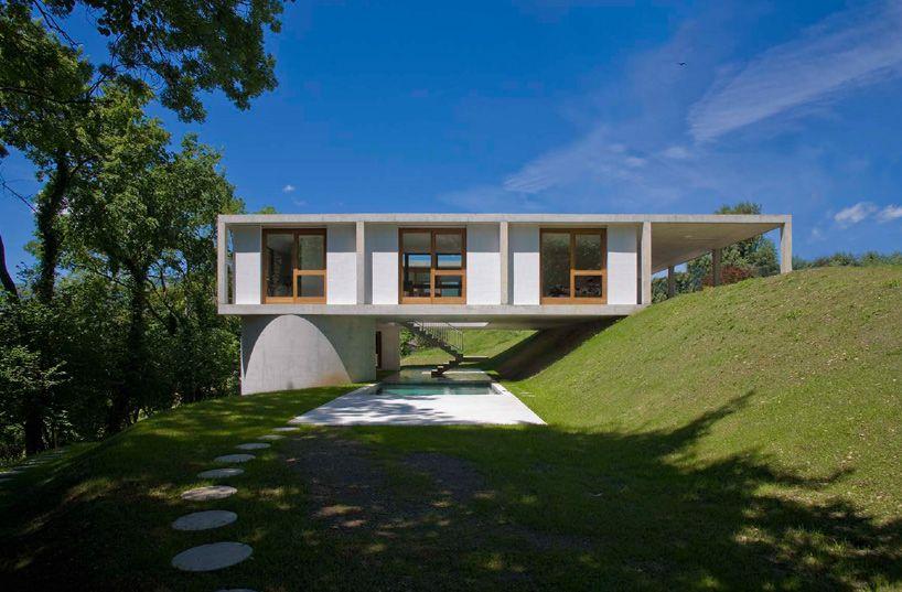 architetti pedrozzi and diaz saravia: house in sonvico - designboom | architecture