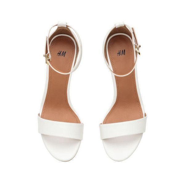 Sandals $24.99 (205 SEK) ❤ liked on Polyvore featuring shoes, sandals, ankle tie sandals, vegan sandals, elastic shoes, vegan footwear and ankle wrap shoes