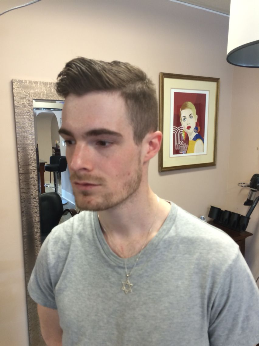Peaky Blinders Prohibition Style Haircut By Iris C At Esalons Cary