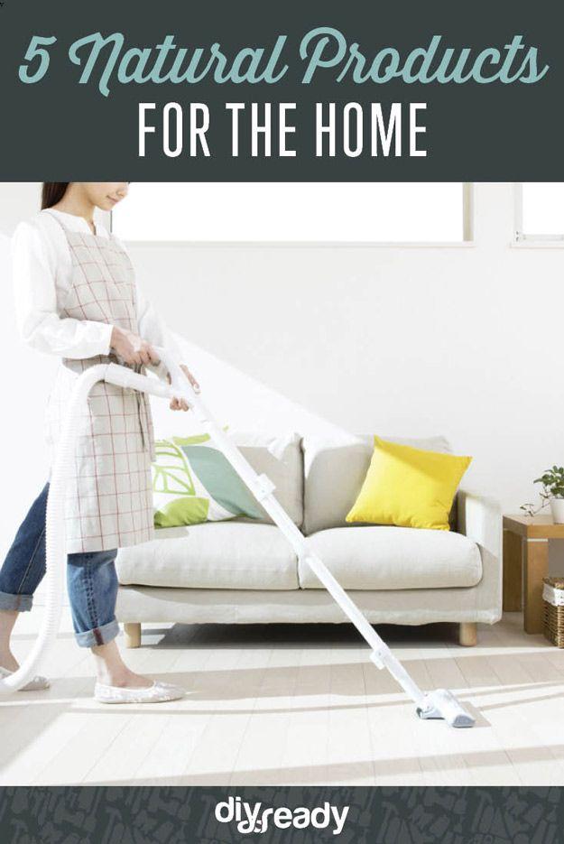 5 Natuurlijke producten voor het huis