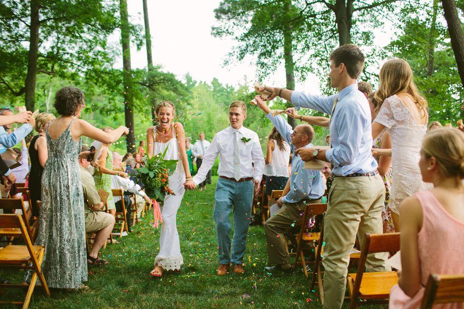 Whimsical Michigan Wedding